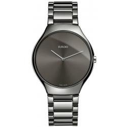 Men's Rado Watch True Thinline L Quartz R27955122 Ceramic