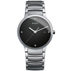 Men's Rado Watch Centrix Diamonds L Quartz R30927713 Diamonds