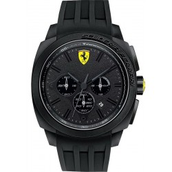 Men's Scuderia Ferrari Watch Aerodinamico Chrono 0830114