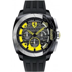 Buy Men's Scuderia Ferrari Watch Aerodinamico Chrono 0830206