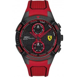 Buy Men's Scuderia Ferrari Watch Apex 0830639 Multifunction
