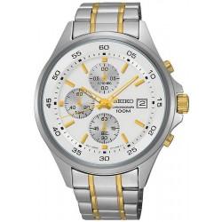 Men's Seiko Watch SKS479P1 Quartz Chronograph