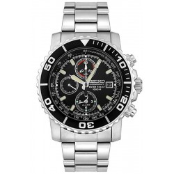 Buy Men's Seiko Watch Alarm Chronograph Quartz SNA225P1