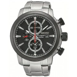 Men's Seiko Watch Neo Sport Alarm Chronograph Quartz SNAF47P1