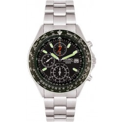 Buy Men's Seiko Watch Flightmaster Pilot Chronograph Quartz SND253P1