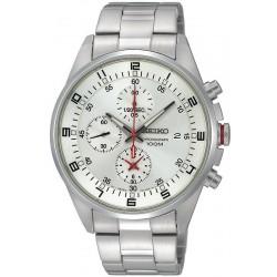 Men's Seiko Watch Sportura SNDC87P1 Chronograph Quartz