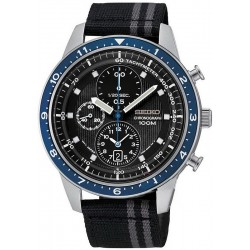 Men's Seiko Watch SNDF47P1 Quartz Chronograph