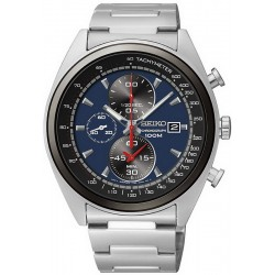 Men's Seiko Watch SNDF89P1 Quartz Chronograph