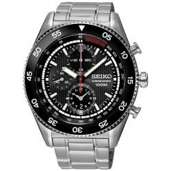 Men's Seiko Watch SNDG57P1 Quartz Chronograph