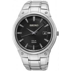 Men's Seiko Watch SNE341P1 Date Solar