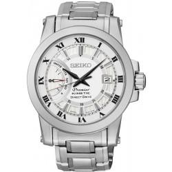 Men's Seiko Watch Premier Kinetic Direct Drive SRG007P1 Chronograph