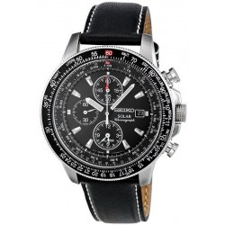 Men's Seiko Watch Prospex Sky Chronograph Solar SSC009P3