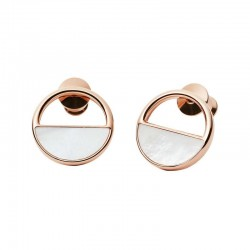 Women's Skagen Earrings Elin SKJ0998791 Mother of Pearl