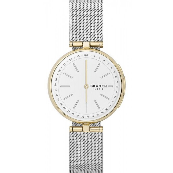 Buy Women's Skagen Connected Watch Signatur T-Bar SKT1413 Hybrid Smartwatch