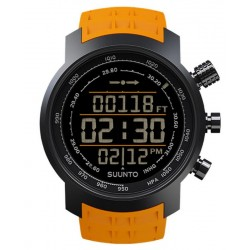Buy Suunto Elementum Terra Amber Rubber Men's Watch SS019172000