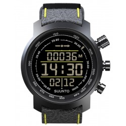 Buy Suunto Elementum Terra Black / Yellow Leather Men's Watch SS019997000