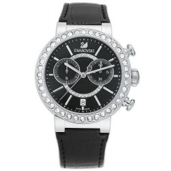 Buy Women's Swarovski Watch Citra Sphere Chrono Black 5027131 Chronograph