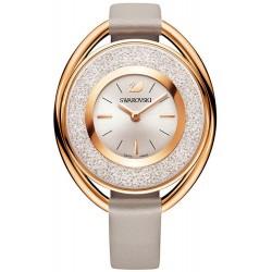 Women's Swarovski Watch Crystalline Oval Rose Gold Tone 5158544