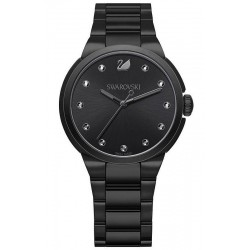 Buy Women's Swarovski Watch City Black Tone 5181626