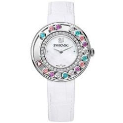 Women's Swarovski Watch Lovely Crystals Multi-Colored 5183955 Mother of Pearl