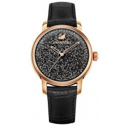 Women's Swarovski Watch Crystalline Hours Black 5218902 Automatic