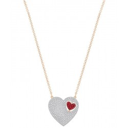 Women's Swarovski Necklace Great Heart 5272346