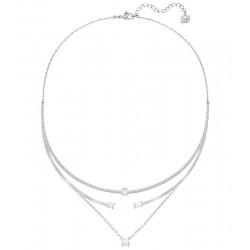 Women's Swarovski Necklace Gray 5272360
