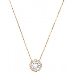 Women's Swarovski Necklace Sparkling Dance Round 5272364
