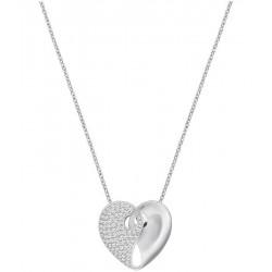 Women's Swarovski Necklace Guardian Medium 5279155 Heart