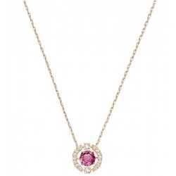 Women's Swarovski Necklace Sparkling Dance Round 5279421