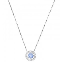 Women's Swarovski Necklace Sparkling Dance Round 5279425
