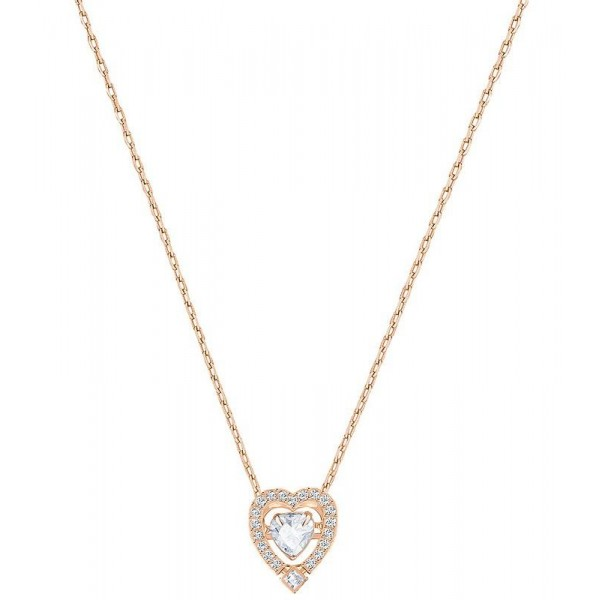 Buy Women's Swarovski Necklace Sparkling Dance Heart 5284188
