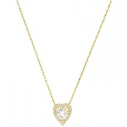 Women's Swarovski Necklace Sparkling Dance Heart 5284190