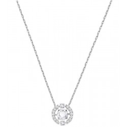 Women's Swarovski Necklace Sparkling Dance Round 5286137