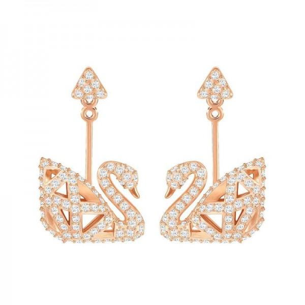 Buy Women's Swarovski Earrings Facet Swan 5358058