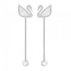 Buy Women's Swarovski Earrings Iconic Swan 5429270