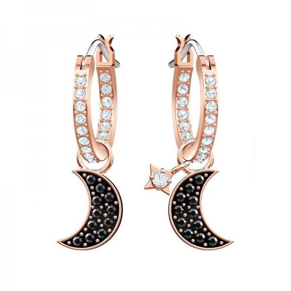 Buy Women's Swarovski Earrings Duo Moon 5440458