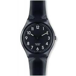 Unisex Swatch Watch Gent Black Suit GB247