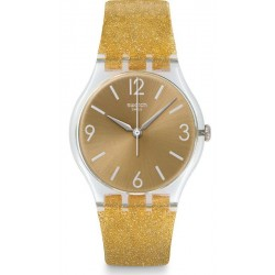 Women's Swatch Watch Gent Sunblush GE242C