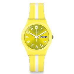 Unisex Swatch Watch Gent Lemoncello GJ702
