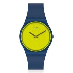 Unisex Swatch Watch Gent Yellowpusher GN266