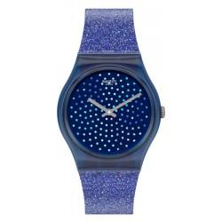 Women's Swatch Watch Gent Blumino GN270