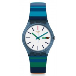 Unisex Swatch Watch Gent Color Crossing GN724