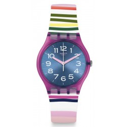 Women's Swatch Watch Gent Funny Lines GP153