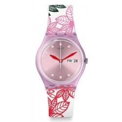 Buy Women's Swatch Watch Gent Summer Leaves GP702
