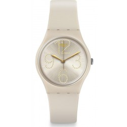Women's Swatch Watch Gent Sheerchic GT107