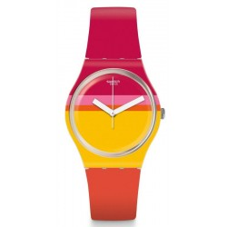 Buy Women's Swatch Watch Gent Roug'Heure GW198