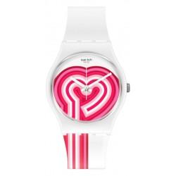 Women's Swatch Watch Gent Beatpink GW214