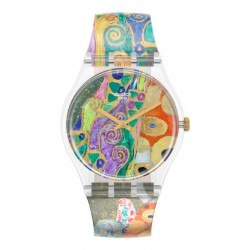 Buy Swatch Watch MoMA Hope, II by Gustav Klimt GZ349