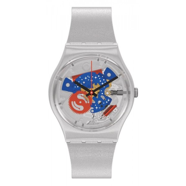 Buy Swatch Watch Gent Take Me To The Moon NASA GZ355